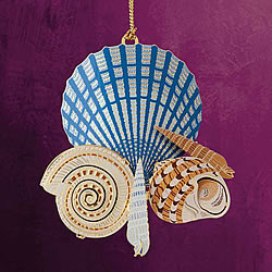 Seashells On The Shore Ornament