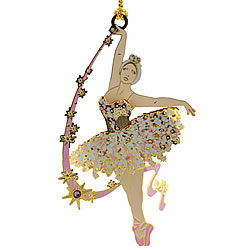 Graceful Ballerina Ornament