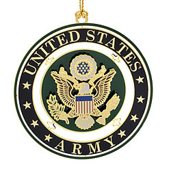 United States Army Seal Ornament