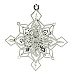 Twinkling Snowflake Ornament