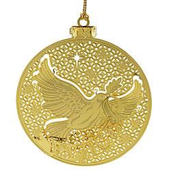 Peace Doves Ornament