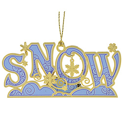3D Snow Ornament
