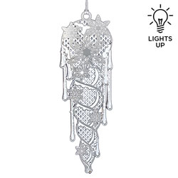 Illuminated Icicle Ornament