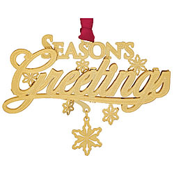 Season's Greetings Ornament