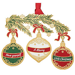 Have Yourself A Merry Little Christmas Ornament