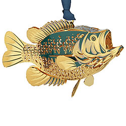 Bass Ornament 3-D
