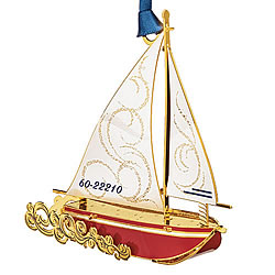 Sloop Ornament