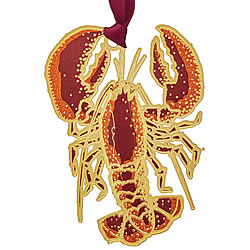 Coastal Lobster Ornament