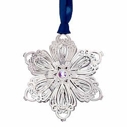 Blooming Snowflake Ornament 3-D