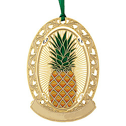 Pineapple Greeting Ornament (Single)
