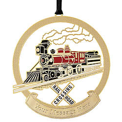 Scenic Railway Ornament
