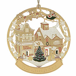 Main Street Christmas Ornament