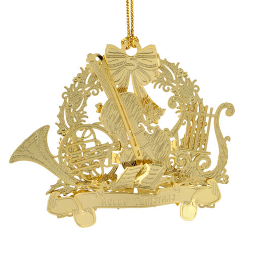 Christmas Symphony Ornament - Click Image to Close