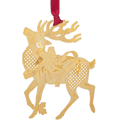 Reindeer Ornament - Click Image to Close