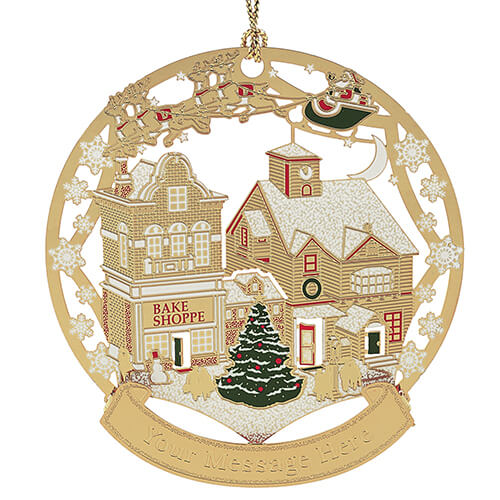 Main Street Christmas Ornament - Click Image to Close