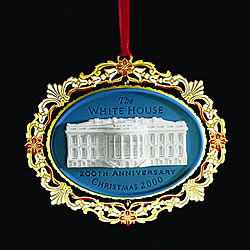2000 200th Anniversary Of The White House Ornament