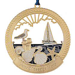 Harbor Pier Ornament