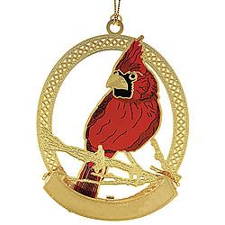 Cardinal Ornament (Single)