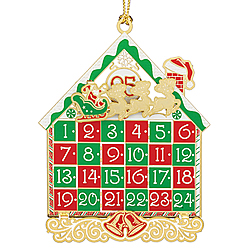 Advent Calendar Ornament