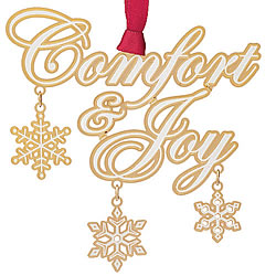 Comfort & Joy Ornament