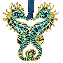 Seahorses Ornament