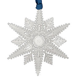 Winter Wishes Snowflake Ornament