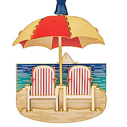 At The Beach Ornament