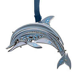 Dolphin Ornament 3-D